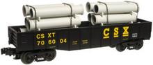Atlas O Industrial Rail CSX gondola, 3 rail, 027