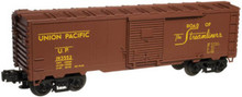 Atlas O Industrial Rail UP  box car, 3 rail, 027