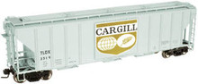 Atlas O Cargill  PS4427 50' Covered Hopper, 3 or 2 rail