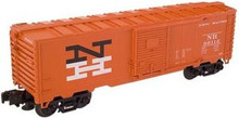 Atlas O Industrial Rail NH (org)  box car, 3 rail, 027