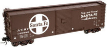 Atlas O Santa Fe USRA 40' steel box car, 3 rail or 2 rail