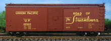 Atlas O UP  40' steel  box car, 3 or 2 rail