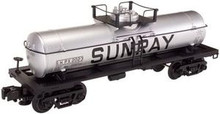 Atlas O Industrial Rail Sunray tank car, 3 rail, 027