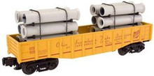 Atlas O Industrial Rail Ohio Tube gondola, 3 rail, 027