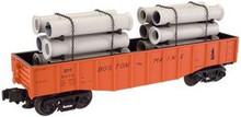 Atlas O Industrial Rail B&M gondola, 3 rail, 027