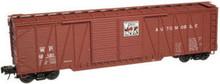 Atlas O WP 50' single sheathed box car, 3 or 2 rail