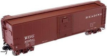 Atlas O Reading  X-29 40' box car, 3 or 2 rail