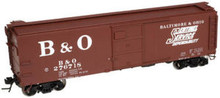 Atlas O B&O X-29 40' sentinel  box car, 3 or 2 rail