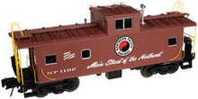 Atlas O Northern Pacific Standard cupola caboose, 2 rail