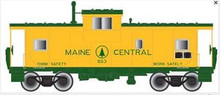 Atlas O Maine Central Extended Vision caboose, 2 rail