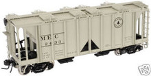 Atlas O Maine Central  ACF 34' Covered Hopper, 3 or 2 rail
