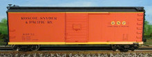 Atlas O RS&P  40' steel box car, 3 rail or 2 rail
