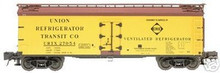 Atlas O Erie 40' wood reefer, 3 rail  or 2 rail