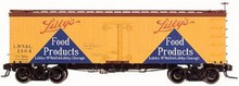 Atlas O Libby's products 36' reefer, 3 rail  or 2 rail