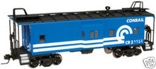 Atlas O Conrail  Bay window caboose,  3 rail or 2 rail