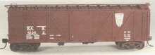 Weaver Bangor and Aroostook 40' wood box car, 3 rail or 2 rail