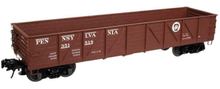 Atlas O PRR 40' Composite gondola, 3 or 2 rail