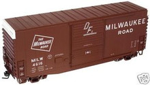Atlas O MILW  40' Hy-cube box car, 3 rail or 2 rail