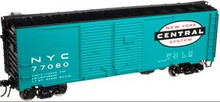 Atlas O NYC 1930's-1960's style 40' DD steel box car, 3 rail or 2 rail