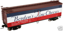Atlas O Bordens cheese 40' reefer, 3 rail or 2 rail