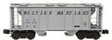 Weaver WM PS-2 covered hopper car, 3 rail or 2 rail