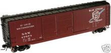 Atlas O SSW  50' double door box car, 3 rail or 2 rail