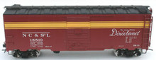 Atlas O NC&StL  40' steel box car, 3 rail  or 2 rail