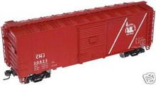Atlas O CNJ  40' steel box car,  3 rail or 2 rail