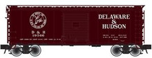 Atlas O PDT exclusive D&H  40' steel box car,  3 rail or 2 rail