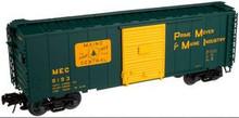 Atlas O Maine Central  40' steel box car,  3 rail or 2 rail