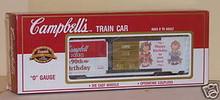 K-line Campbells Soup  Box car 3-rail