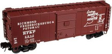 Atlas O RF&P  40' steel box car,  3 rail or 2 rail