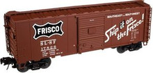 Atlas O SLSF (frisco)  40' steel box car,  3 rail or 2 rail