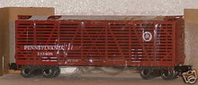 Weaver PRR  40' stock car, 3 or 2 rail