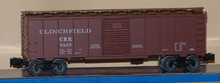 Weaver Clinchfield 40' steel box car