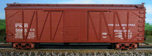 Atlas O Philadelphia and Reading box car, 3 or 2 rail