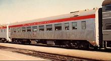 Golden Gate Depot SP aluminum smooth side coach,  3 rail