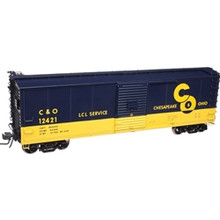 Atlas O C&O 40' USRA Steel Box Car