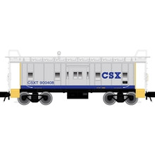 Atlas O CSX Bay Window Caboose, 3 rail