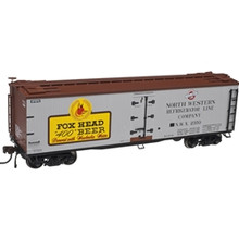 Atlas O FOX HEAD BEER 40' Wood Reefer