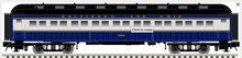 Pre-order for Atlas O 60' B&O Coach Car, 3 rail or 2 rail