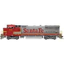 Preorder for Atlas O Santa Fe Dash 8 40BW Diesel