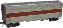 Atlas O Erie Lackawanna (Express) 1937-Style 40' Single Door Box Car