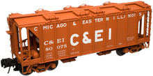 Atlas O  C&EI  34'  ACF  Covered Hopper