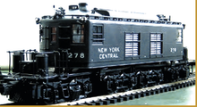 Sunset/3rd Rail brass NYC T-3  Electric (black), 2 rail or 3 rail