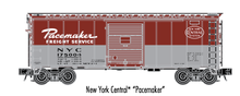 Atlas O (trainman) NYC Pacemaker 40' Steel Box car, 3 rail or 2 rail