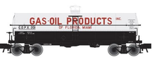 Atlas O  Gas-Oil Products  11,000 gallon tank car