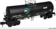 Atlas O Cargill 17,600 gal tank car, 2 rail or 3 rail