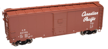Atlas O Canadian Pacific (1937 style)  40' Steel Box car, 3 rail or 2 rail