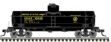 Atlas O  US Army 8000 gallon tank car